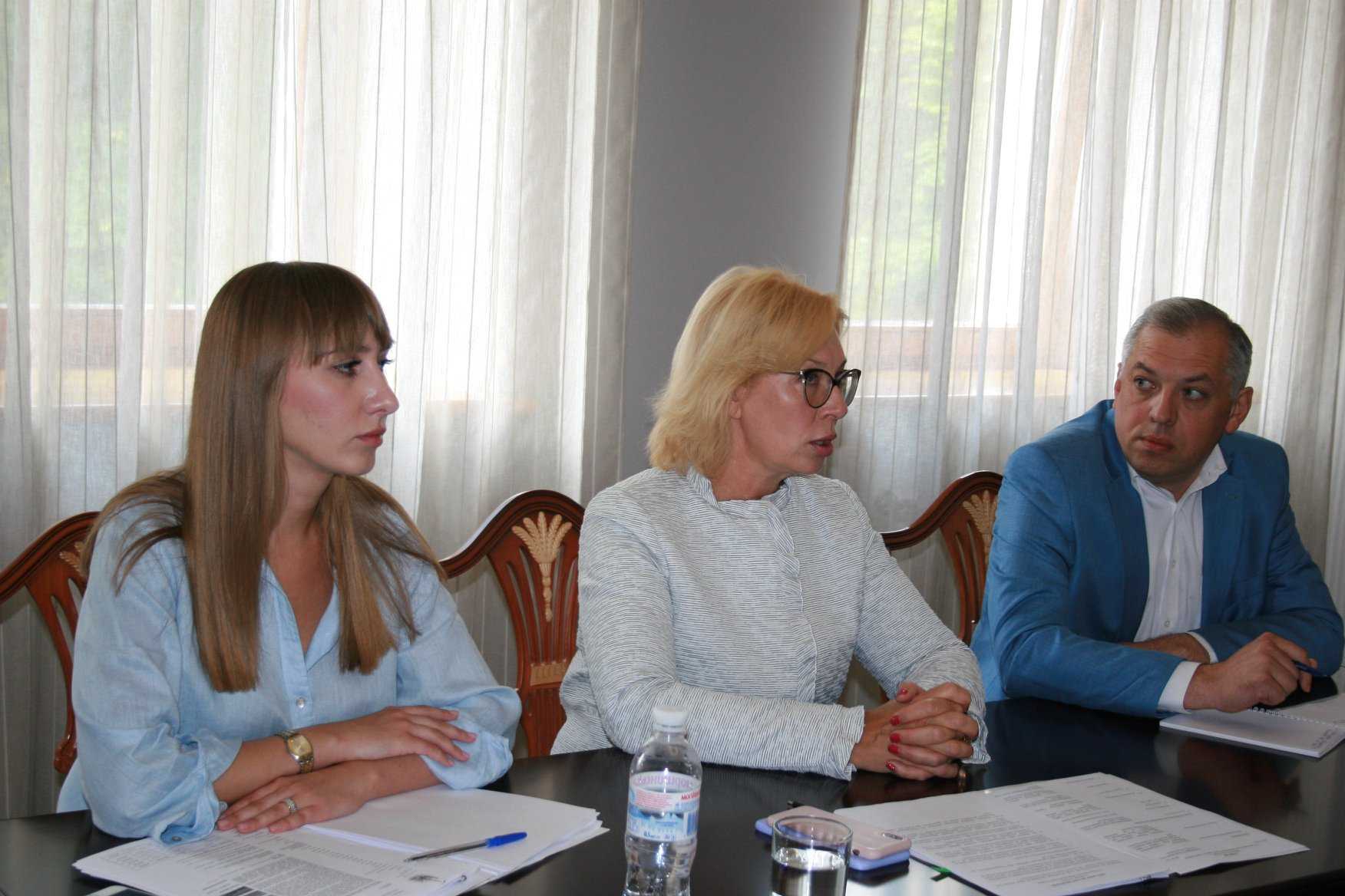 Уповноважений зустрілася з родичами українських політв'язнів