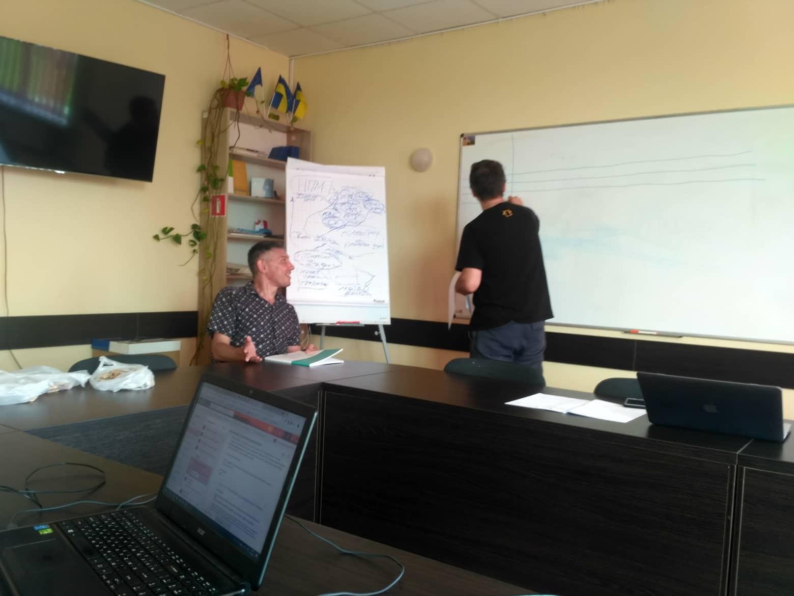Робоча зустріч організаторів Базового тренінгу з моніторингу місць несвободи у Чернігові