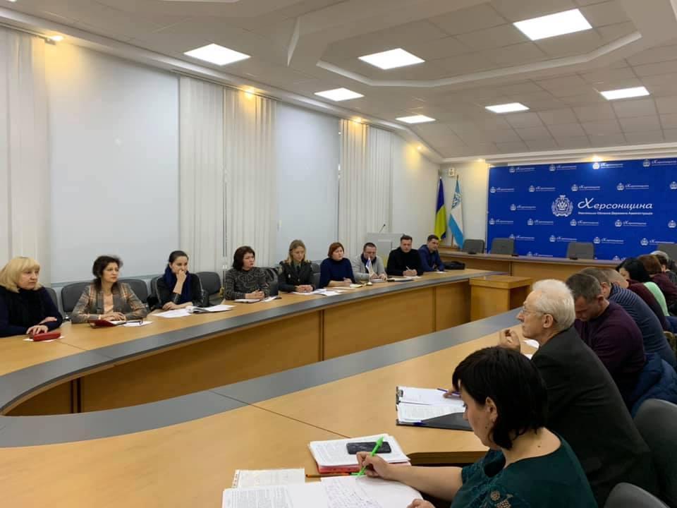 На Херсонщині проведено                                                                                                         круглий стіл з питань дотримання прав людини
