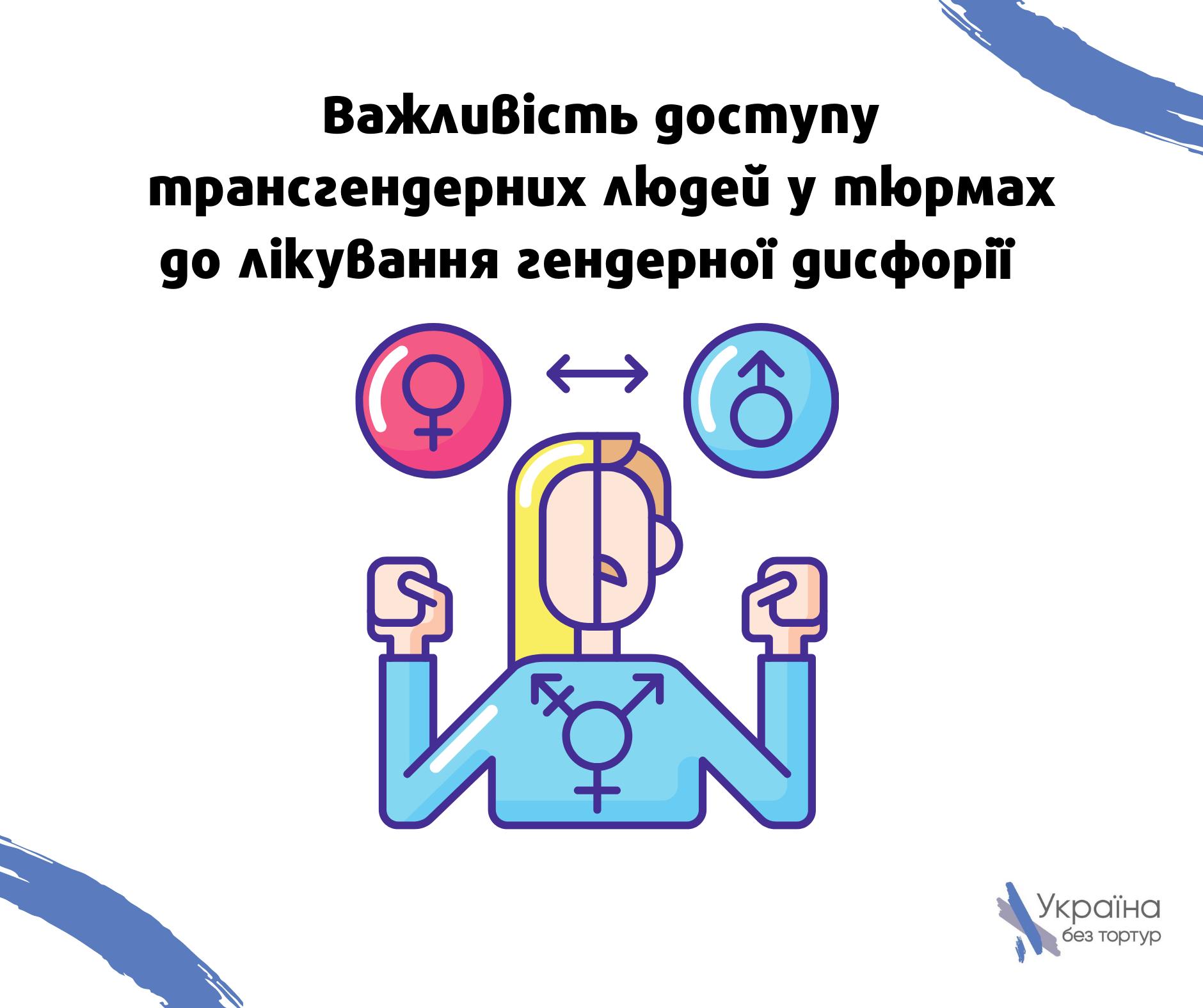 Важливість доступу трагенсгендерних людей у тюрьмах до лікування трансгендерної дисфорії