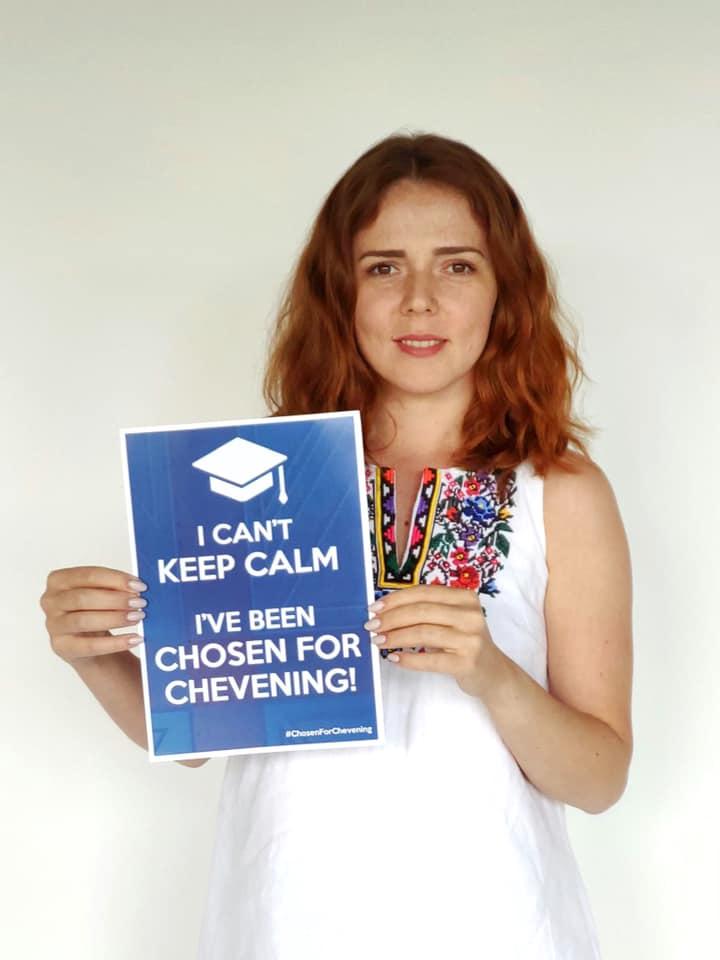 Монітор НПМ Анастасія Клюга виграла стипендію Chevening!